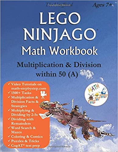 The Unofficial Lego Ninjago Math Workbook Multiplication and