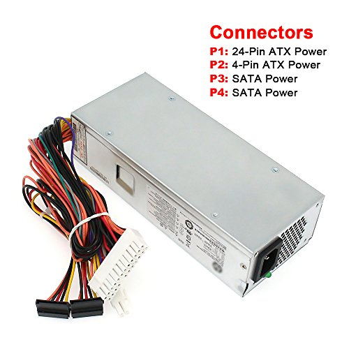 S-Union 220W Power Supply Unit for HP Pavilion Slimline S5 Series,s5-1024 PC LTNA s5-1110d PC SING s5-1002la s5-1010 TouchSmart 310-1205la, 633195-001 633193-001 633196-001,PCA222 PCA322 FH-ZD221MGR by S-Union (Image #1)