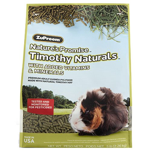 Zupreem 230021 Nature'S Promise Guinea Pig Pellets Food For Pets, 5-Pound For Sale