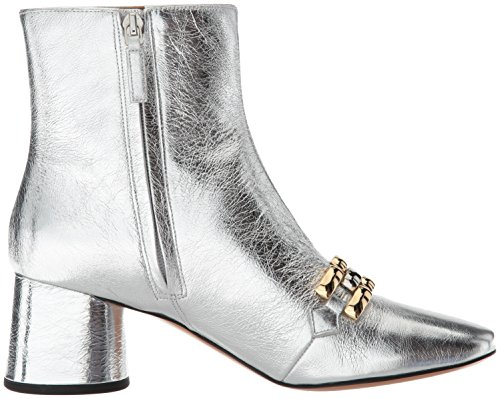 Marc Jacobs Women's Remi Chain Link Ankle Boot Silver factory outlet online order for sale professional online cheap 2015 sale geniue stockist RGDApDWgU