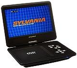 Sylvania SDVD1030-RB 10'' Portable DVD, w/SD card reader Swivel screen Manufacturer Refurbished