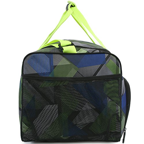 51ydEA4jDZL - Fila Energy Md Travel Gym Sport Duffel Bag, Abstract Neon