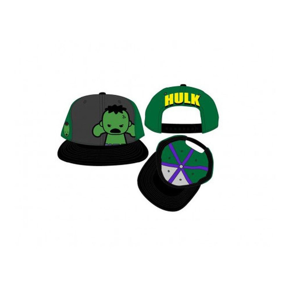 bf4b2341d1859 Amazon.com  Marvel Kawaii Hulk Snapback Hat  Toys   Games