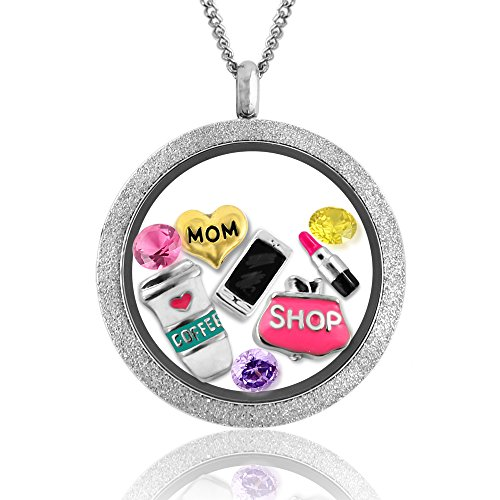 Mothers Jewelry Floating Necklace Fashion