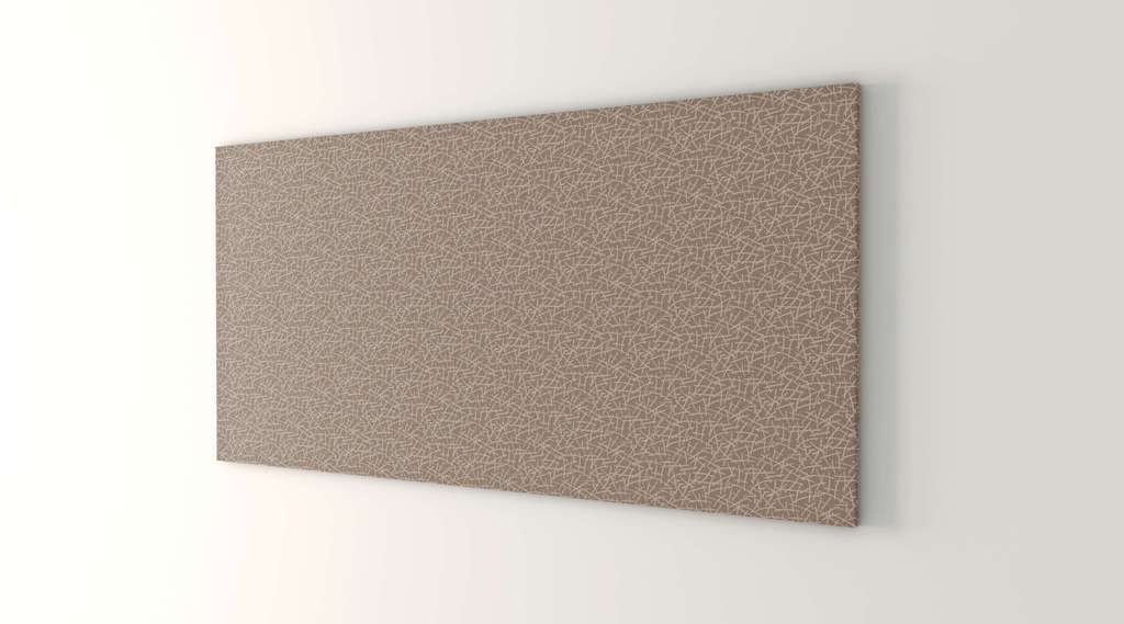 Obex 36X60-TB-R-ST 36'' x 60'' Obex Rectangle Tackboard, Straw, 36'' x 60''