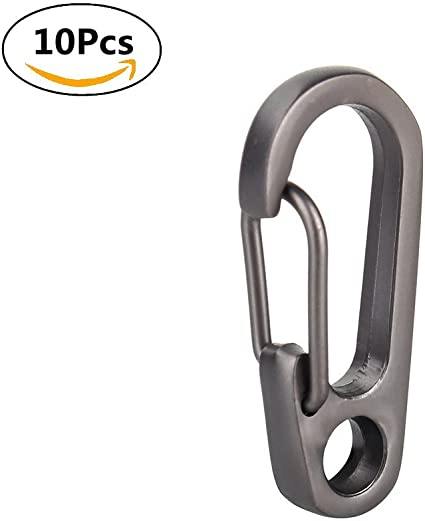 Buckles Climbing Carabiners EDC Keychain Clips Snap Spring Clasp Bottle Hooks