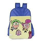 Fairly OddParents Boys Girls School Bagpack RoyalBlue