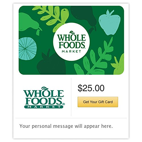 Amazon.com: Whole Foods Market Gift Cards Configuration Asin - E-mail Delivery: Gift Cards