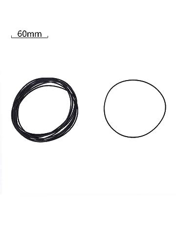 UOTA - Cinturones planos de goma para CD y DVD, cinta de repuesto para grabadora