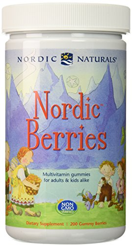 Natural Berry - Nordic Naturals Nutritional Supplement, Berries, 200 Count