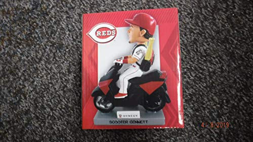 SCOOTER GENNETT Cincinnati Reds Baseball Bobblehead -Mint