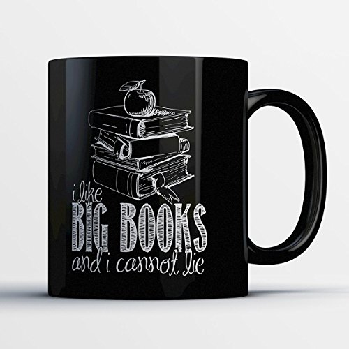 Reading Coffee Mug - I Like Big Books - Adorable 11 oz