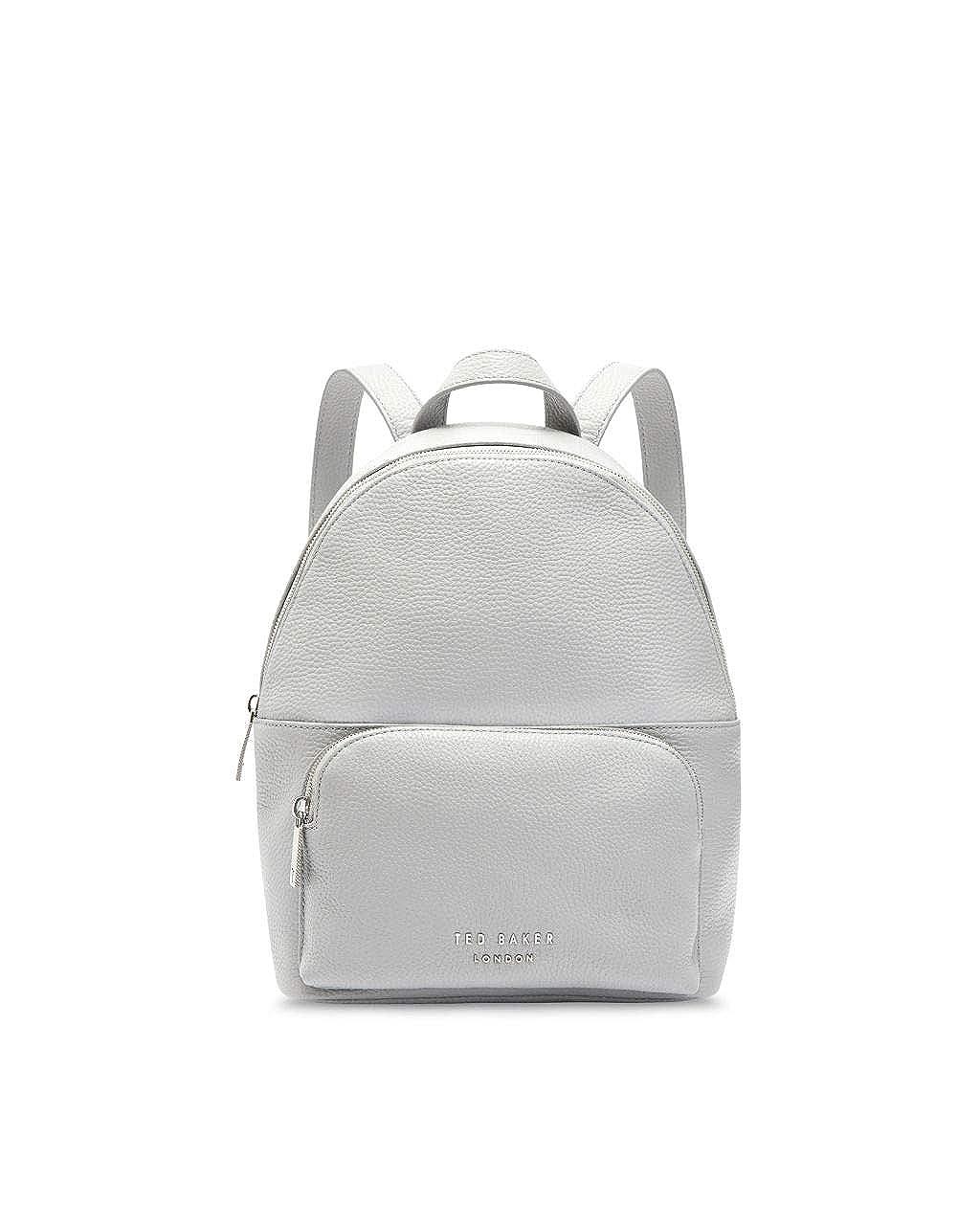 (テッドベーカー) TED BAKER LONDON PALOYA Soft leather backpack レディース バッグ バックパック (並行輸入品) One Size ライトグレー B07PK53CHT