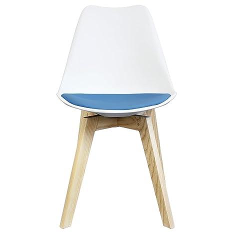 Only Design Canary - Silla de Comedor y cojín de Color ...