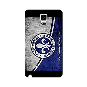 SV Darmstadt 98 FC Protect Case Delicate Series Back Case Snap On Samsung Galaxy Note 4 SV Darmstadt 98 Logo