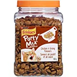Friskies Party Mix Cat Treats; Gravy-Licious Chicken Crunch - 454 g Canister