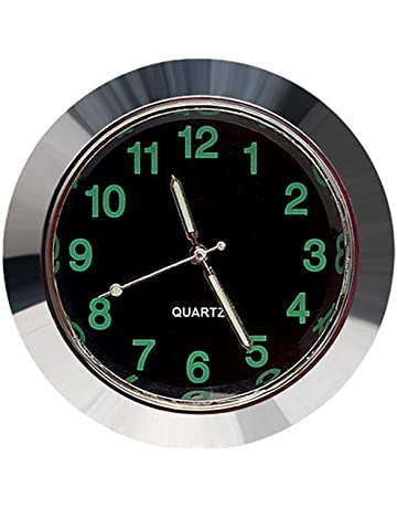 6f09382d0767 Liamostee - Reloj Luminoso para Coche