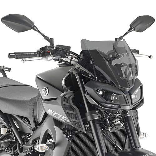 Pare Brise Bulle SPECIFIQUE A2132 Yamaha MT 09 2017 2019 FUM/È Moto GIVI