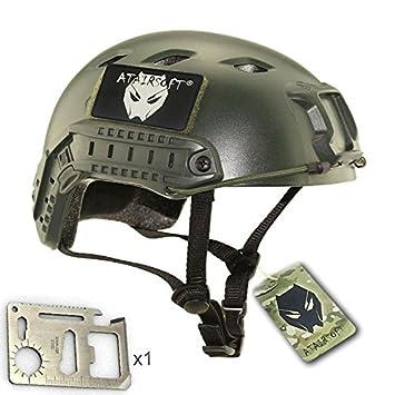 Worldshopping4U casco de Airsoft SWAT, BJ, de DE/FG/OD, OD
