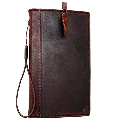 Genuine Italy Oil Leather Case for Iphone 6s Plus + Book Wallet Handmade Business Handmade S 6 plus