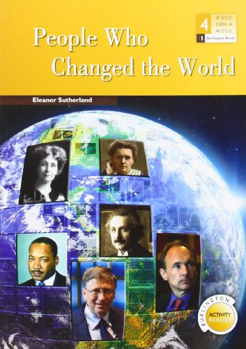 PEOPLE WHO CHANGED THE WORLD (4 ESO) Unknown