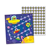 Wholesale CASE of 25 - Carson Out of the World Student Progress Chart-Mini Incentive Chart, Out Of This World, 30/PK, Multi-Color