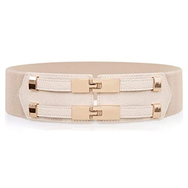 BMKWSG-YAODAI Cinturón elástico de la moda de la falda de la falda ...