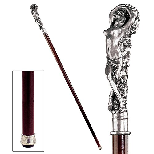 Design Toscano Andromeda Woman Walking Stick, 91.5 for sale  Delivered anywhere in Canada