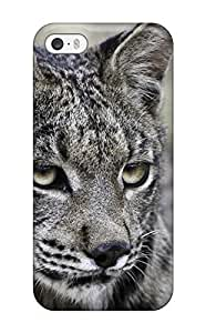 Anti-scratch And Shatterproof Lynx Pictures Phone Case For Iphone 5/5s/ High Quality Tpu Case