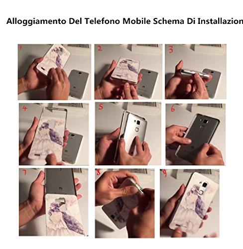 Malloom® Struttura Metallica In Alluminio Di Lusso + Acrilico Copertura Di Caso per Iphone 5S - Nero