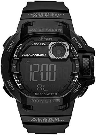 ser Reloj Digital para Hombre de Cuarzo con Correa en PU SO-3495-PD