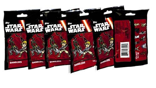 DANGLER TOPPS STAR WARS THE FORCE AWAKENS 6 PACKS by Disney ()