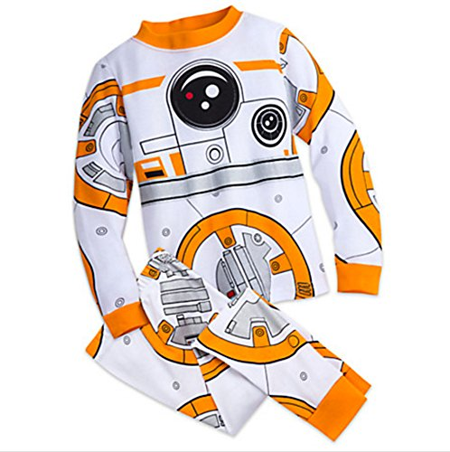 Disney Store BB-8 Star Wars Costume Pajamas PJ PALS for Kids, (Pajamas Stores)