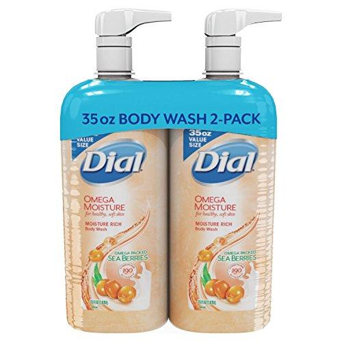 (Dial Omega Moisture Sea Berries Moisture Rich Body Wash (35 fl. oz, 2 pk))