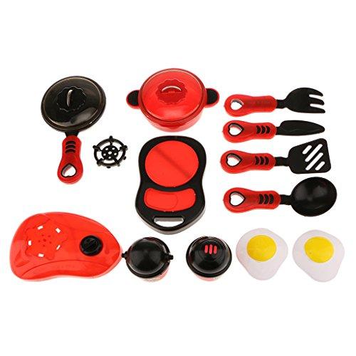 Küche Kochgeschirr Rolle Spielen Spielzeug-Kit Vorgeben Mini-Küche Kochgeschirr