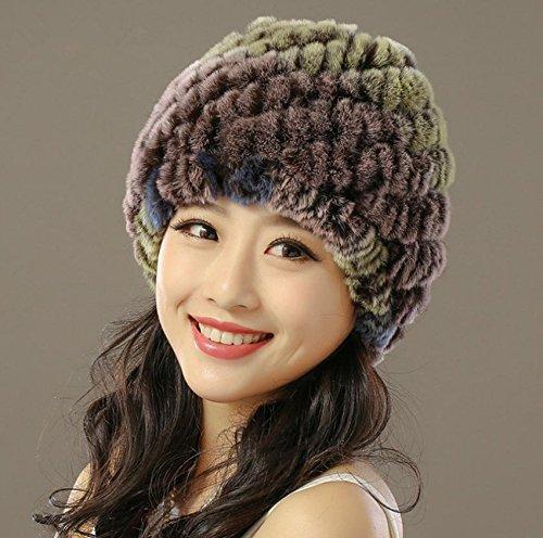 Chapeau d'oreille chaude d'hiver épaississement étanche chapeau pour dames , 2