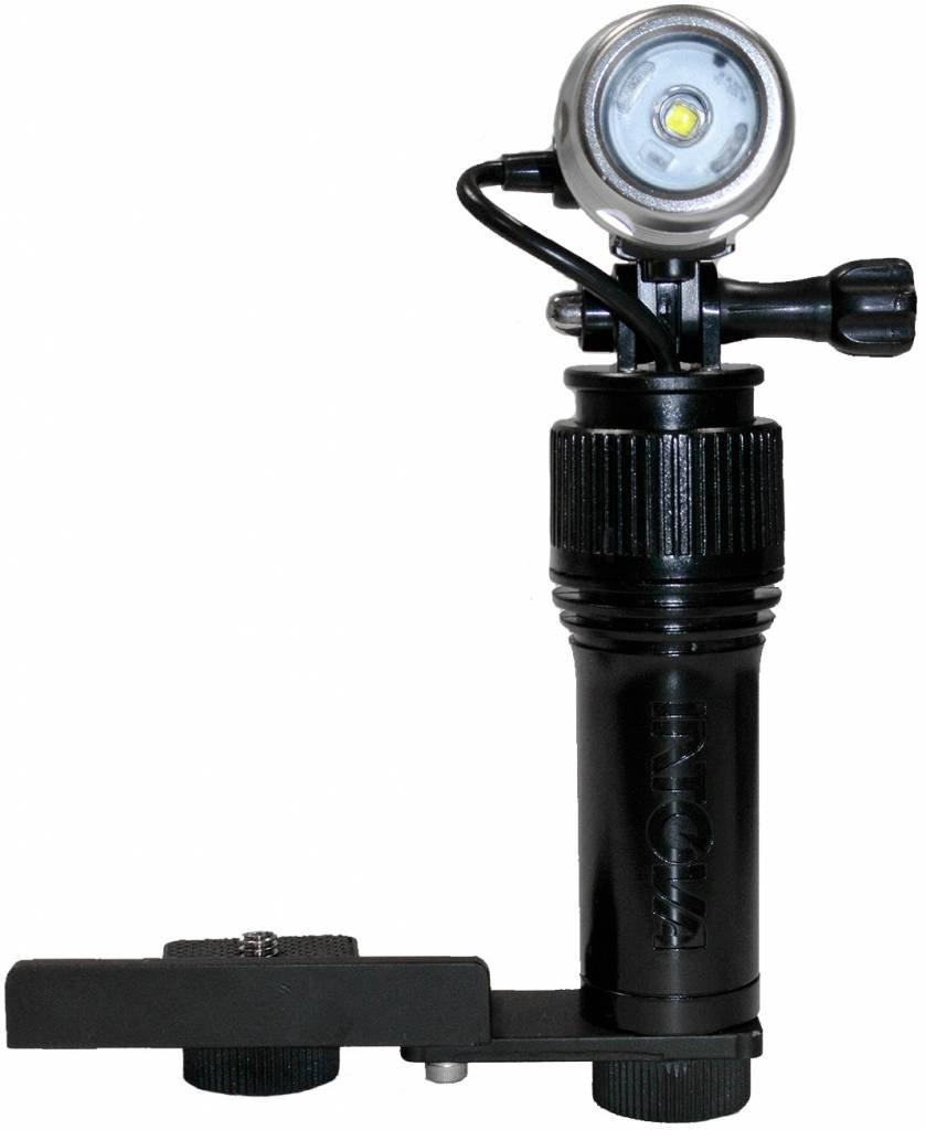 Intova LED Waterproof Action Video Light with 640 Lumens, Black I-AVL