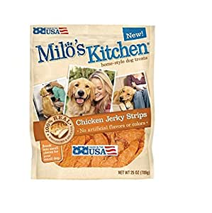 Amazon.com : Milo's Kitchen Chicken Jerky Dog Treats (25
