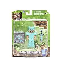 Jazwares Minecraft Diamond Steve Action Figure