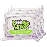 Baby : Boogie Wipes Soft Natural Saline Wet Tissues for Baby and Kids Sensitive Nose, Hand, and Face with Moisturizing Aloe, Chamomile, and Vitamin E, Unscented, 30 Count (Pack of 3)