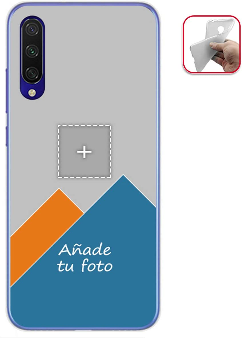 Personaliza tu Funda Gel Mate con tu Fotografia para Xiaomi Mi 9 Lite Dibujo Personalizada