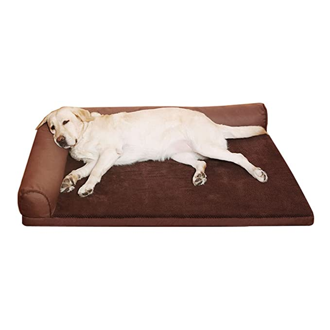 Dog bed Perro Cama casa del Gato Extraíble y Lavable casa para Perros Cuatro Estaciones Grandes Mascotas Pet Nest Suministros (Color : Gray, ...