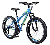 Mongoose Boys Bering 3' Fat Tire Bicycle 24' Wheel