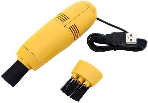 Amazing Kit de Limpieza de Polvo para PC y portátil, Mini aspiradora, USB, 4 Colores (sin Caja de Embalaje): Amazon.es: Deportes y aire libre