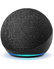 Echo Dot (4th Gen) | Smart speaker with Alexa | Charcoal