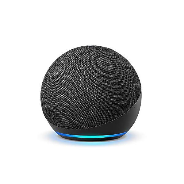 All-new Echo Dot (4th Gen, 2020 release)   Smart speaker with Alexa   Charcoal