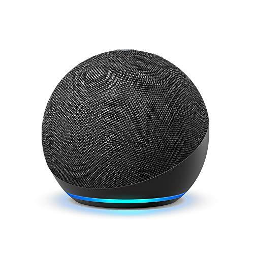 Certified Refurbished Echo Dot (4th Gen, 2020 unencumber) | Smart speaker with Alexa | Charcoal