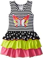 Bonnie Jean Little Girls' Dress Stripe To Multi Skirt