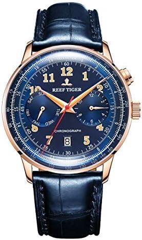 Reef Tiger Top Brand Men Watch Business Watches Luminous Automatic Watch Waterproof RGA9122