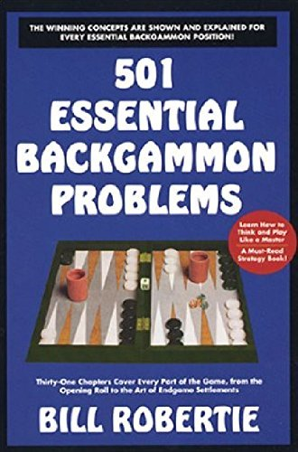 [ 501 BACKGAMMON PROBLEMS ] BY Robertie, Bill ( Author ) [ 2000 ] Paperback